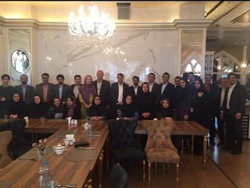 گردهمایی سالانه ی کارگزاری ایساتیس پویا (تهران)
